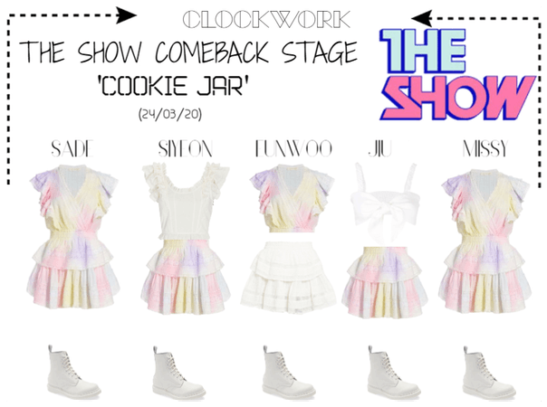 *CWK* THE SHOW STAGE | 'COOKIE JAR'