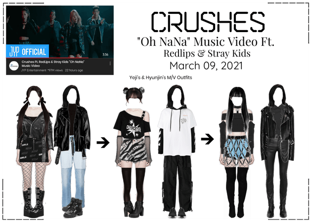 "Crushes (호감) ""Oh NaNa"" Ft. Redlips & Stray Kids"