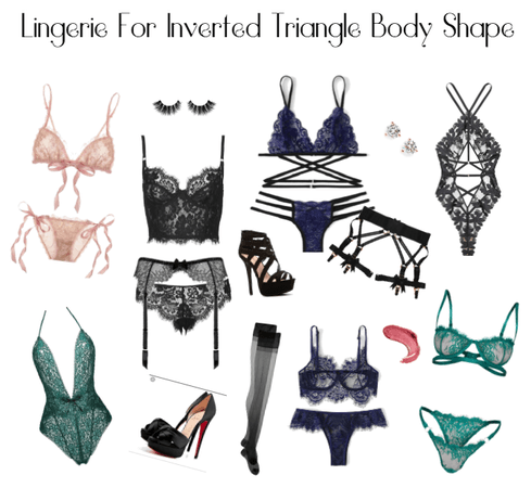 Lingerie For Inverted Triangle Body Shape