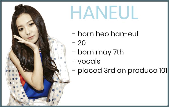 member 2 - HANEUL