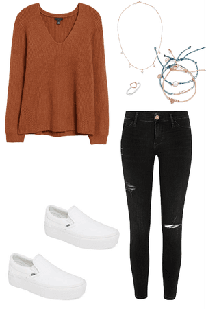 aesthetic cute fall outfit🍁🍂