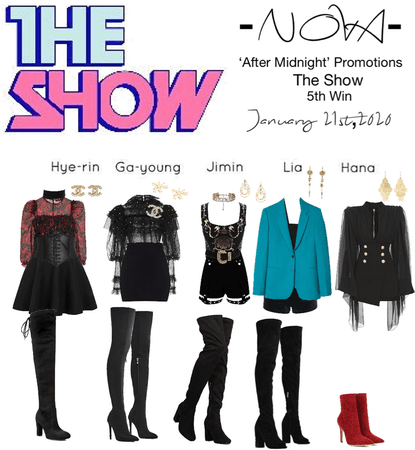 -NOVA- 'After Midnight' The Show Stage