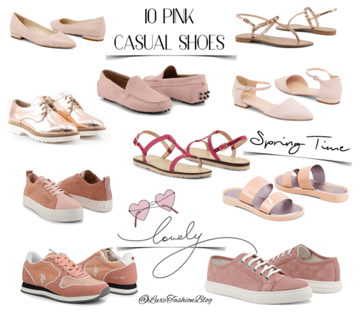 10 pink casual shoes for Spring