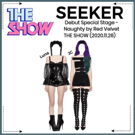 "SEEKER - ""Naughty"" Debut Special Stage"
