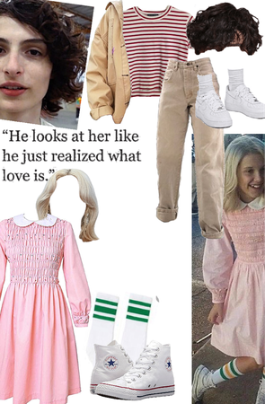 couples Halloween costume (mike and eleven stranger things)