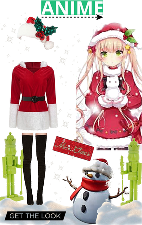 Anime Mrs Claus
