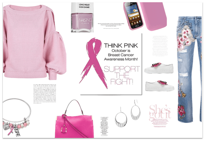THINK PINK BREAST CANCER AWARENESS