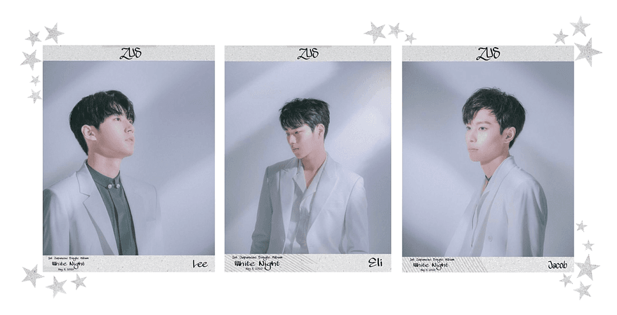 Zus//'White Night' Japan Debut Teasers #2