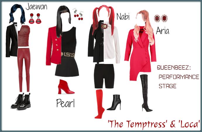 QueenBeez Performance Stage: The Temptress & Loca