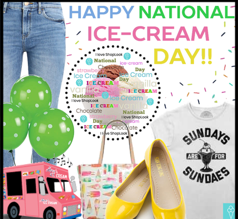 Happy National Ice-Cream Day!