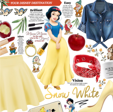 Modern Day snow white