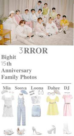 BigHit 15th year Anniversary Family Photos