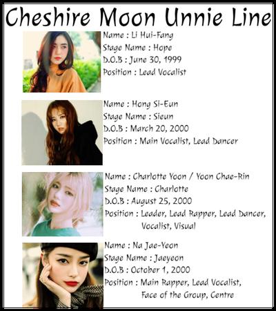 ☾heshire Moon Unnie Line