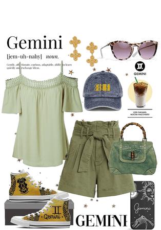 Gemini Mixed Media