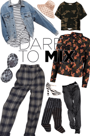 dare to mix prints