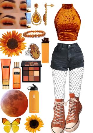 look #120: amber romance
