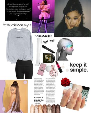 Ariana grande style. (@aafashion comp)
