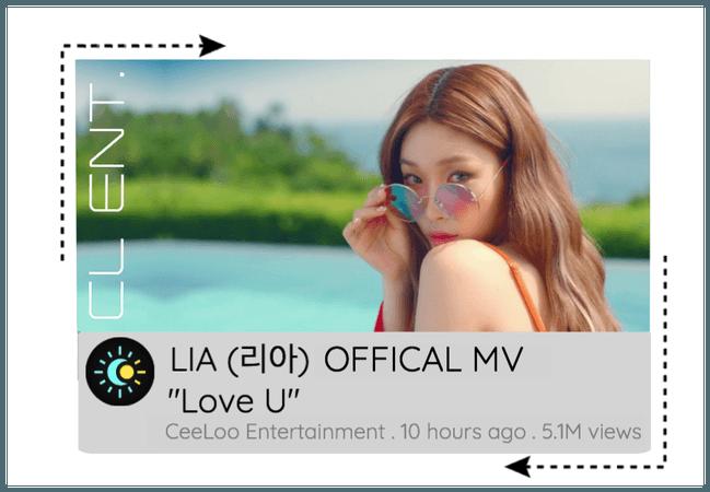 "LIA ""Love U"" OFFICAL MV"