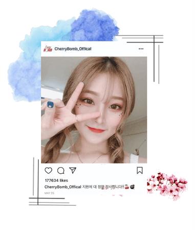 Instagram Post: Mina