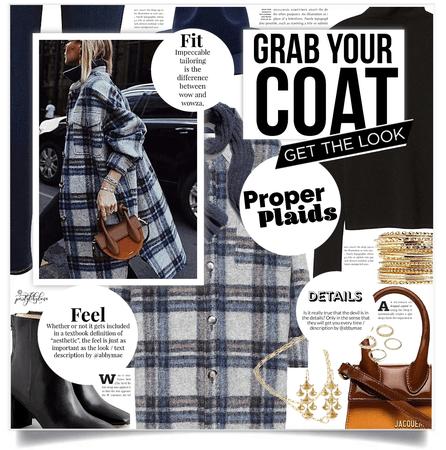 Get The Look: Warm Plaid Coat