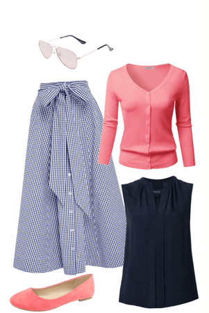 Preppy Modest Style