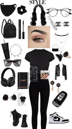black casual