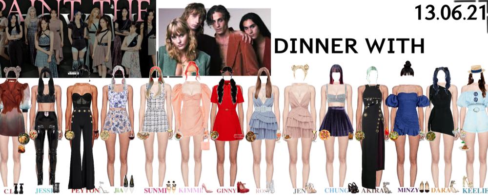DINNER WITH MANESKIN IN MILAN