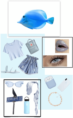 Fish Inspired Outfit