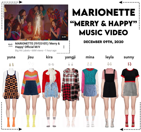 MARIONETTE (마리오네트) 'Merry & Happy' Music Video