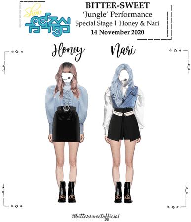 BITTER-SWEET [비터스윗] Honey & Nari Show! Music Core 201114