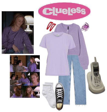Clueless-Inspired Lavender Outfit
