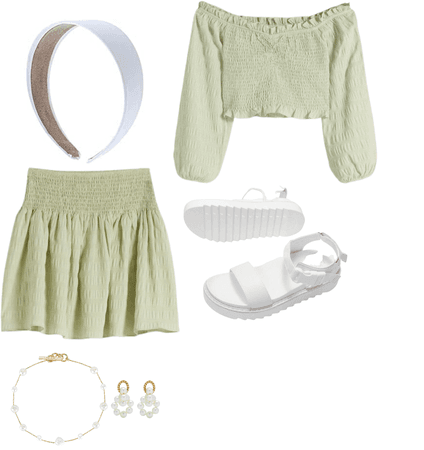 simple mall outfit