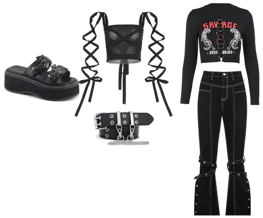 Egirl | Gothic | Grunge Outfits