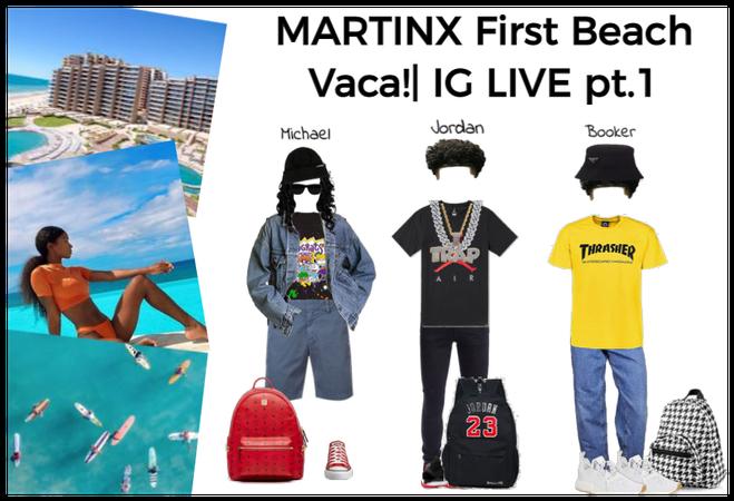 MARTINX FIRST BEACH VACA!| pt.1 (men's Outfits
