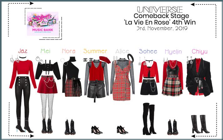 UNIVERSE Music Bank 'La Vie En Rose'