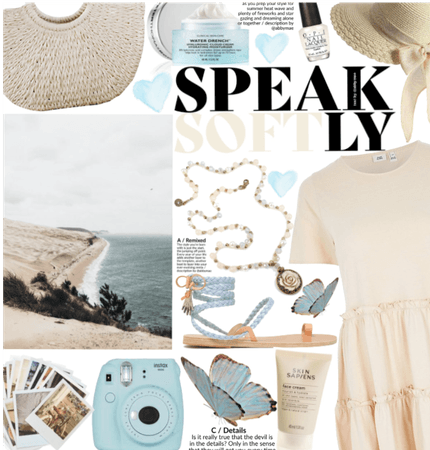 Speak softly|muted pastels