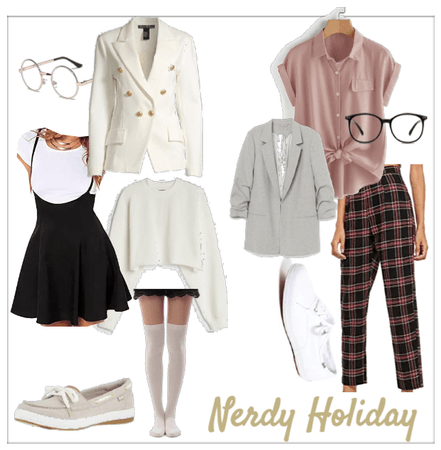 Nerdy Holiday Outfit