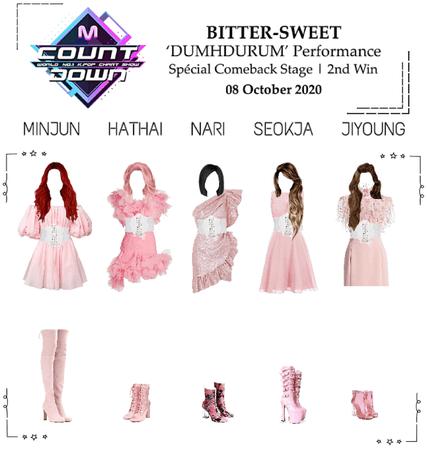 BITTER-SWEET [비터스윗] M Countdown 201008