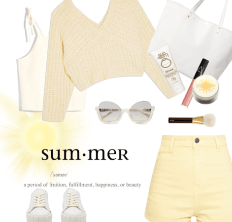 Sunny Summer Yellow