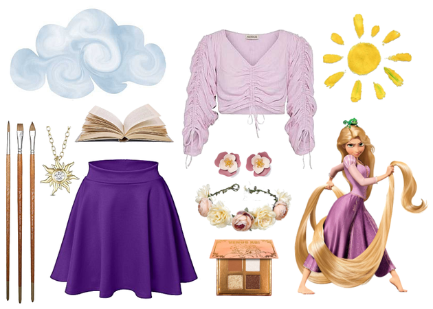 Rapunzel Disneybound