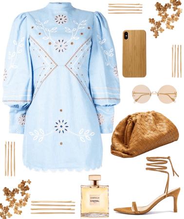 A Blue Summer Dress