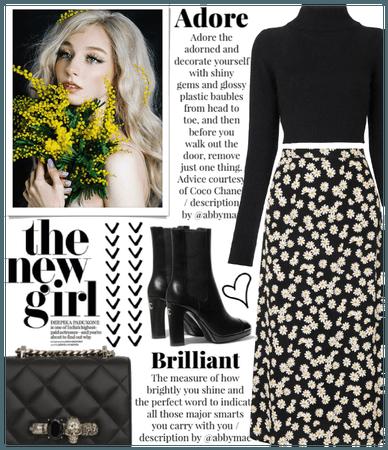 SUMMER 2020: Dark Floral Style