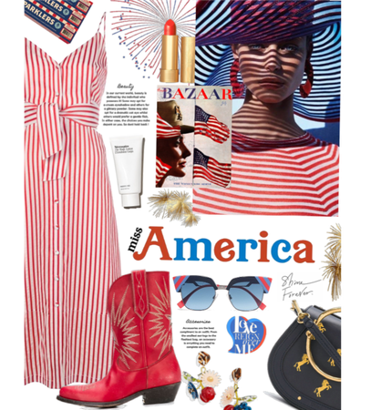 here she is | red white & blue