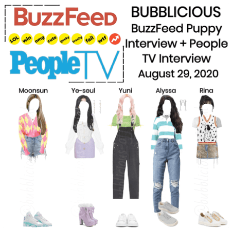 BUBBLICIOUS (신기한) BuzzFeed + People TV Interview