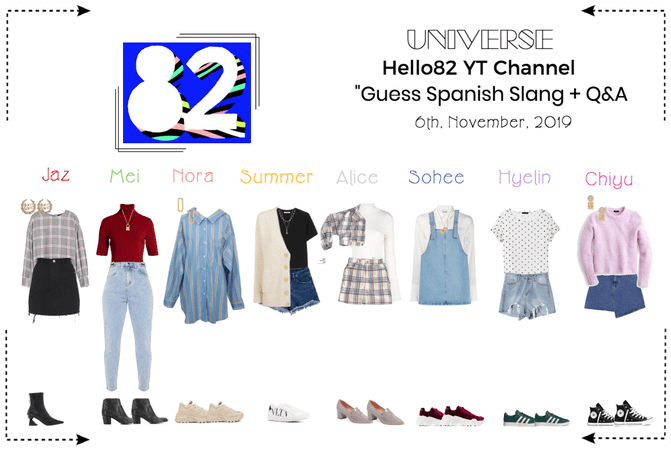 "UNIVERSE Hello82 ""Guess Spanish Slang + Q&A"