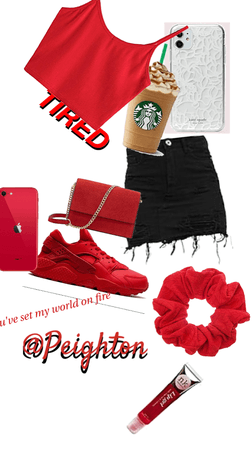 #OOTD Red