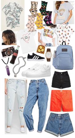 Summer (August-September) School Wardrobe
