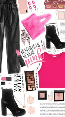 in Wednesday we wear pink
