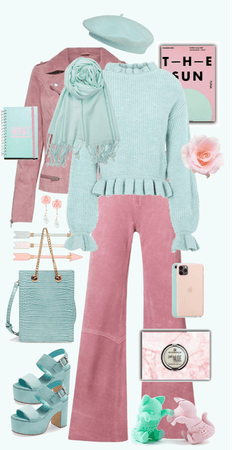 Pink and Mint - A Perfect Combination!