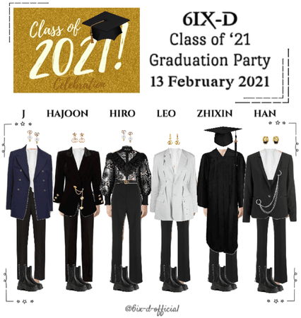 6IX-D [식스디] Class of '21 Graduation Party 210213